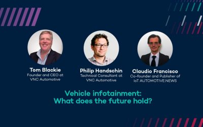 Webinar: Vehicle infotainment. What does the future hold?