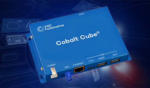 VNC Automotive Cobalt Cube® streamlines systems integration for police and emergency services vehicles